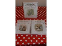 Boxed set of two Beatrix Potter books - Tom Kitten Tales and Peter Rabbit tales