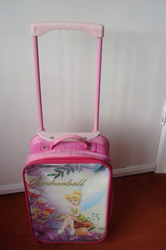 42f8313dfd7c GIRLS TINKERBELL PULL ALONG CASE | in Torquay, Devon | Gumtree
