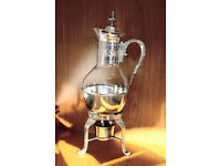 1960's Elegant Mulled Wine/Coffee Decanter & Warmer