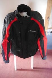 Mens Dainese Cordura Motorcycle Jacket & Trousers