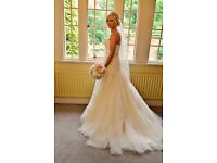 Wedding Dress Enzoani Dabra Size 10-12