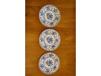 3 Johnson Brother's Indies Plates