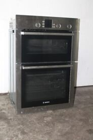 Bosch Built-In Double Oven/Cooker Digital Display Excellent Condition 12 Month Warranty