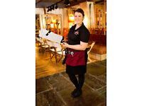Full Time Bartender/ Waiter - Live Out - Up to £7.50 per hour - The Orange Tree - Hitchin - Herts