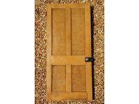Old pine 4 panel door