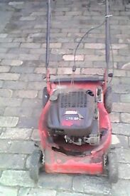 PETROL LAWNMOWER LAWNFLITE 383 SELF PROPLED
