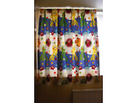CHILD'S BEDROOM CURTAINS
