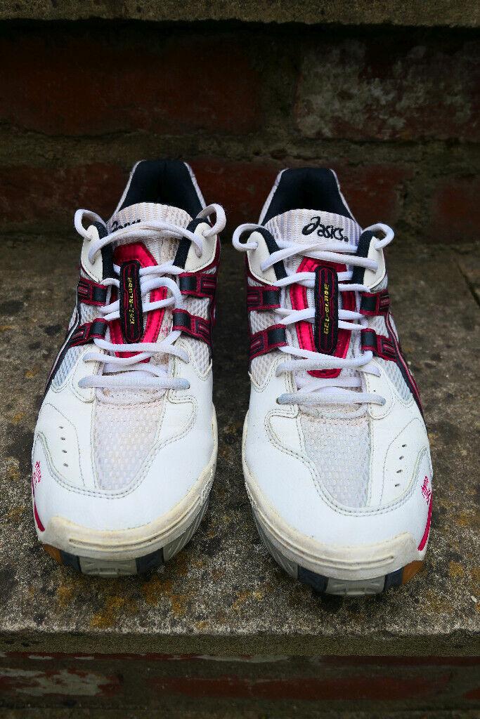 grande vente 536c2 fc61e Asics Gel-Task Indoor Court Shoes (Rhyno Skin) white-red - MEN - UK8.5 | in  Stroud, Gloucestershire | Gumtree