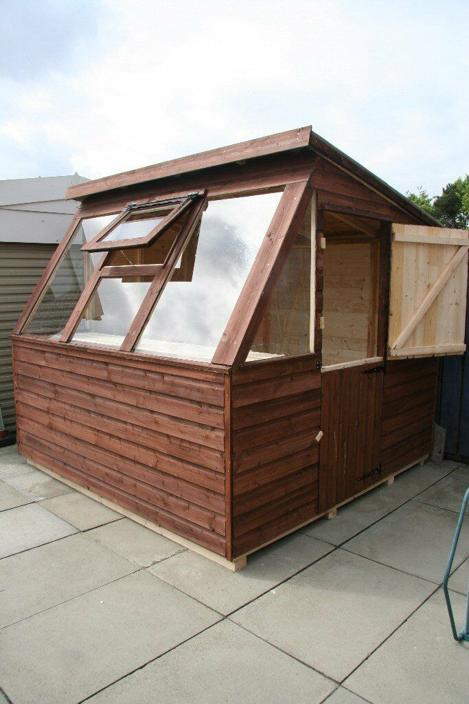 new garden sheds in 16mm weatherboard 8x6 430 - Garden Sheds Gumtree