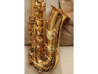 Yamaha YAS62 alto saxophone, Purple Logo first generation