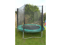 8ft (foot) trampoline with net