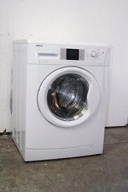 Beko 8kg 1400 Spin Washing Machine Digital Display Excellent Condition 6 Month Warranty