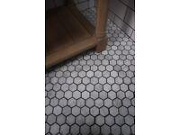Neptune MARBLE Hexagon Tiles - 1sqm