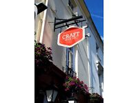 Brilliant Assistant Manager needed at The Craft Beer Co. Brighton