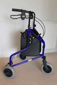 New condition Mobility Walker with Shopping bag