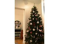 Christmas tree - artificial Argos 7ft tree good condition