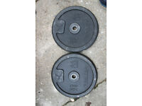 Weights DOMYOS 2X20 kg