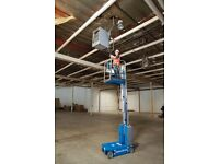 CHERRY PICKER / POP UP / SCISSOR LIFT HIRE 6.47M