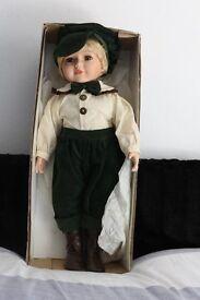 Porcelain Doll .