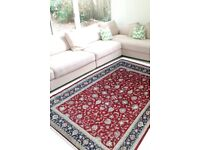 Buy wool rugs online and carpets for living room Shop all over floral kashan at Rugsandbeyond