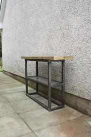 Handmade vintage-industrial sideboard/ hall table