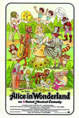 Alice In Wonderland Classic Adult Film Movie Poster 24x36 (Classic Adult Movies)