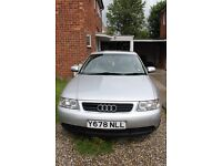 AUDI A3 1.8 Petrol; Automatic car in good condition; 86,000 miles.