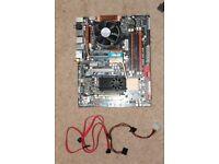ASUS P5Q Deluxe + Intel Q6800 + 4 GB + GPU