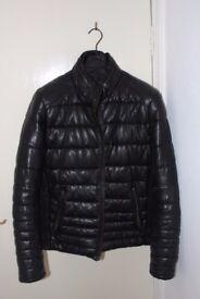 ZARA Men Leather coat/jacket - Please read the description
