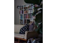 4 X IKEA WHITE 'LIBRARY' BOOKCASES - 6 MONTHS OLD