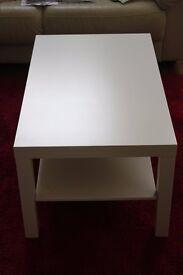 ikea white coffee table £10 ono