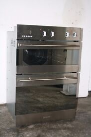 Baumatic Built-In Double Oven.Digital Display.Excellent Condition.12 Month Warranty.