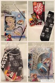 Star Wars / frozen gift bags ideal for Christmas