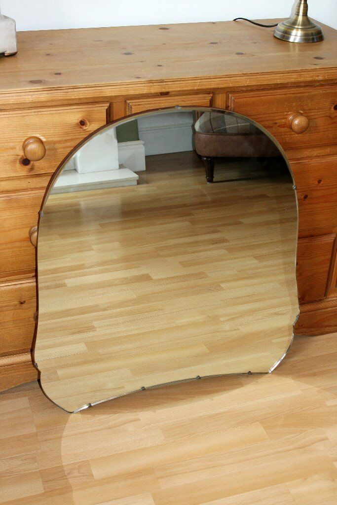 "C.1960s Retro Mirror by Austinsuite VGC (Size approx.: 28"" x 30"")"