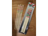 NOVELTY AND GREAT FUN BUT ALSO REAL AND PRACTICAL CHOPSTICKS