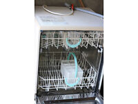 Excellently working and fairly new looking dishwasher; very good results!