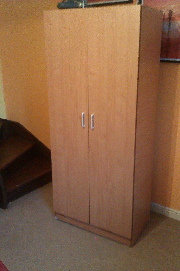 2 door wardrobe for sale in coventry west midlands. Black Bedroom Furniture Sets. Home Design Ideas