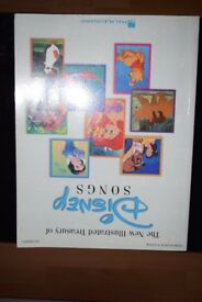 Disney Illustrated Song Book