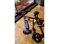Balance bike from decathlon B'twin and Micro mini scooter, used, good condition