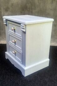 3 Drawer Bedside Chest Cabinet