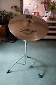 "Stagg 22"" Ride Cymbal with Mapex Stand"