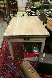 Antique pine farmhouse/country kitchen table