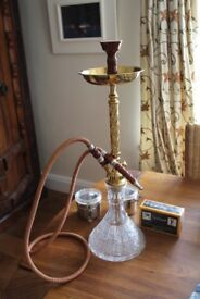 Portable Glass Shisha - with carrying case