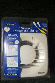 Marley bathroom fan with timer sealed