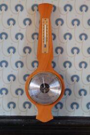 Vintage Weathermaster 'Banjo' barometer