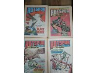 """UK """"HOTSPUR"""" COMIC ALSO WARLORD BEANO DANDY NUTTY BRITISH COMICS SEE OTHER LISTINGS"""