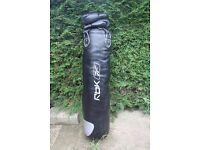 Reebok Punch Bag with gloves