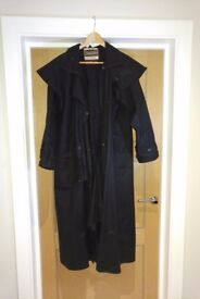 Womens Driza-bone Riding Coat, mint condition, black Size XS3