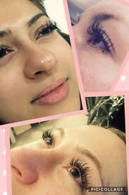 Extra volume and curl Eyelash Extensions