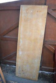Firedoor. Used for making workshop worktop